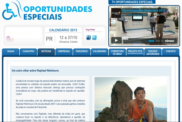 oportunidades especiais