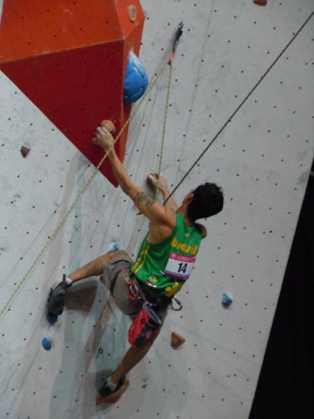 Mundial de escaladaFoto: Thais Makino