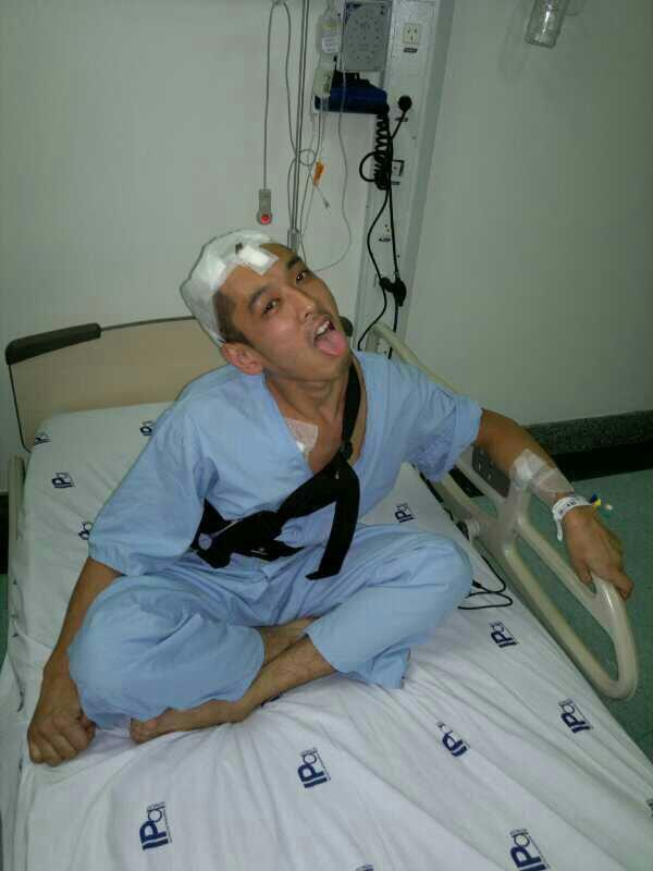 Um dia após cirurgia