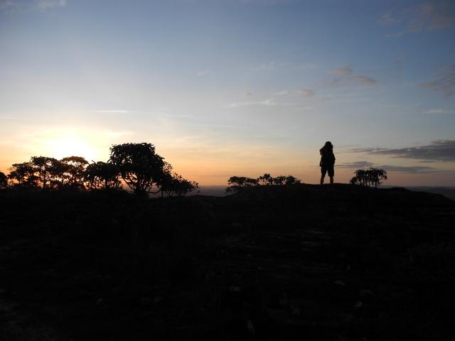 Por do sol incrível!!!!! Foto: Daniel de Andrade