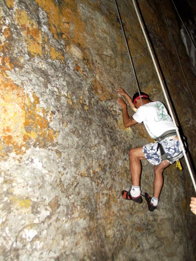 Night Climb Serra Caiada