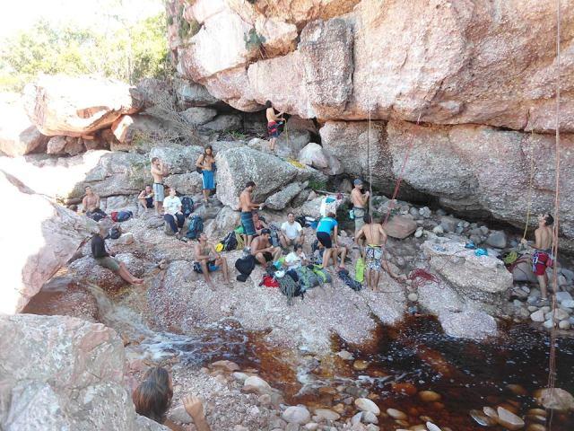 Desafio de vias Foto: Igatu Escalada Trekking