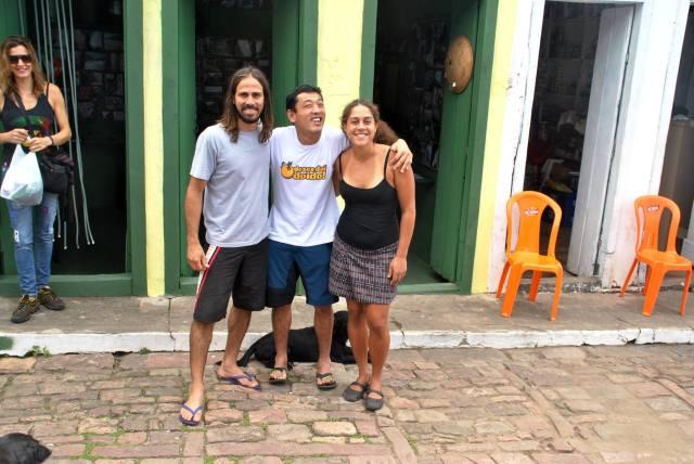 Rafa e Vanessa Foto: Igatu Escalada Trekking