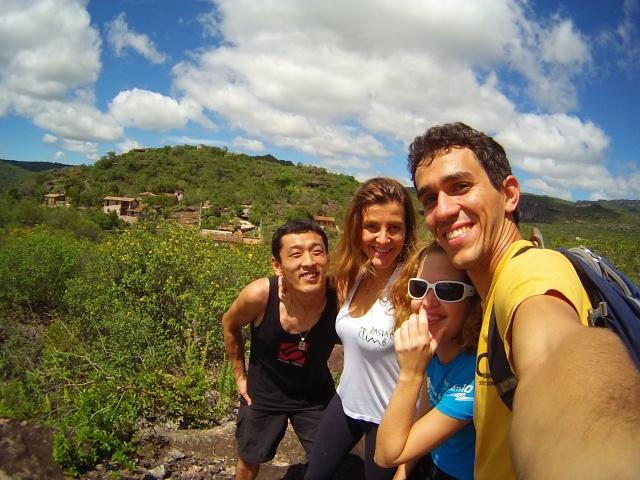 Eu, Jan, Dani e o Juan