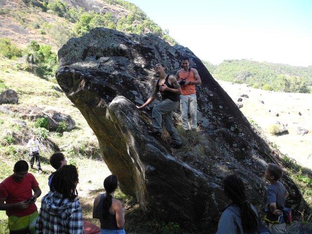 Primeiro boulder pós cirugia Setor Aranha - São Bento do Sapucaí