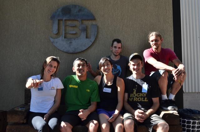 Staff ABEE(Jan, eu, Thais e Ale) + Rout-Setters(Babaleia e Bele)
