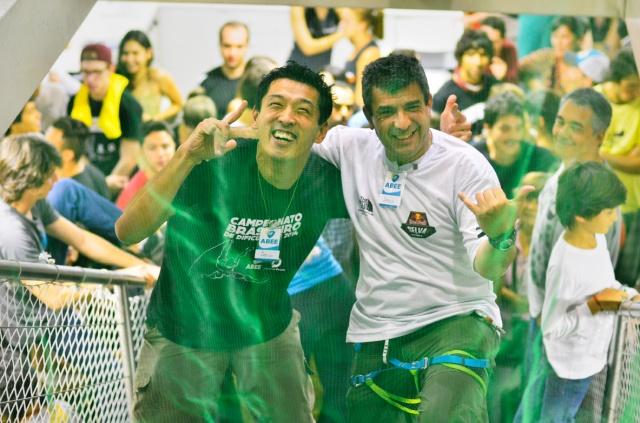 Eu e o Chico segurando o publico! Foto: Alexandre Cardoso